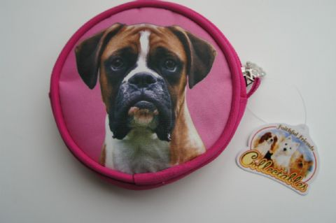 BOXER DOG COIN PURSE